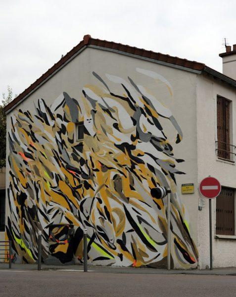 Giorgio Bartocci x Boombarstick '16 wallpainting in Bagnolet