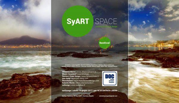 Locandina SyArt Space