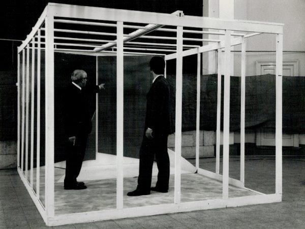 Reale F. Frangi, Cellula Abitabile, 1969, dimensioni ambiente
