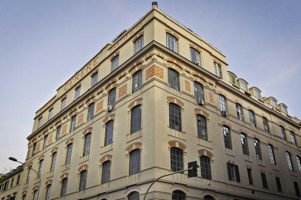 Pastificio Cerere, facciata esterna. Crediti: Studio Ottavio Celestino