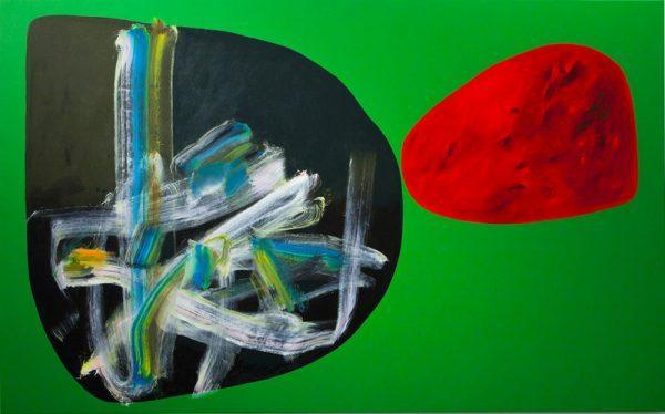 Stefano Paci, No relation, 2012, acrilico, 160x240