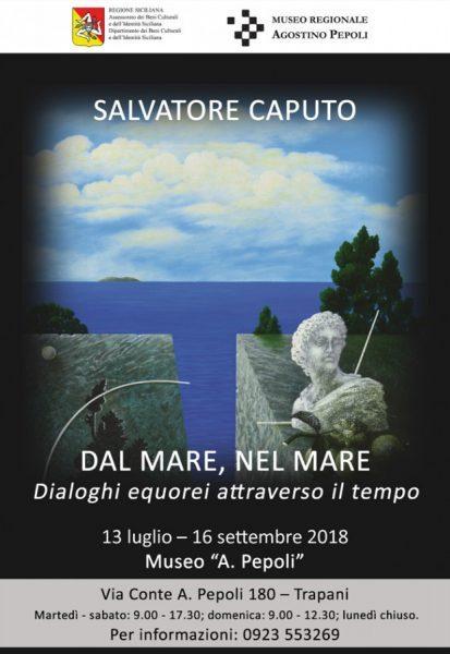 Locandina della mostra di Salvatore Caputo