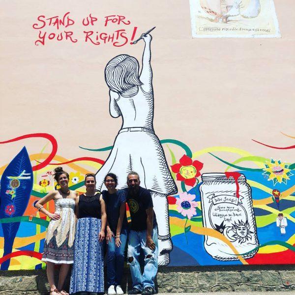 Murales di Zentequerente a Rovigo