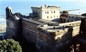 Una veduta del Forte Sangallo