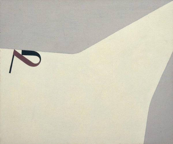 Arturo Bonfanti, Nel campo. 260, 1966, olio su pannello, cm. 25x30