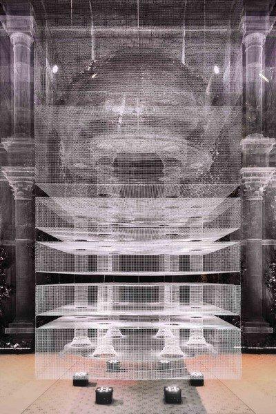 Edoardo Tresoldi - Cube Temple © Roberto Conte