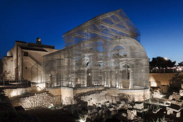 Edoardo Tresoldi, Basilica di Siponto © Roberto Conte #1