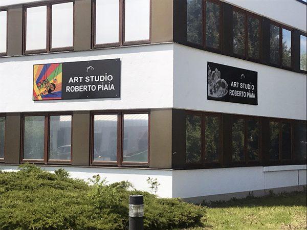 Esterno Studio d'arte Roberto Piaia