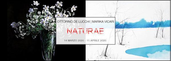 Ottorino De Lucchi & Marika Vicari | NATURAE | PUNTO SULL'ARTE